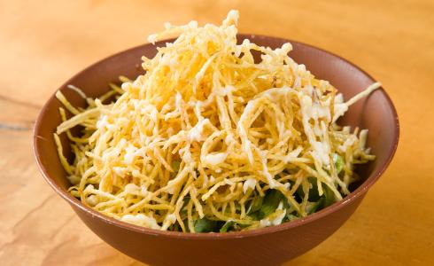 Crispy potato salad