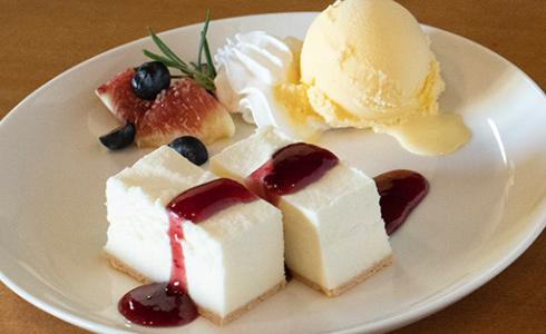 Japanese rare cheesecake